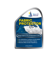 Fabric Protector for Upholstery, Canvas & Outdoor Fabrics - Water & Stain Repellent 32 fl oz