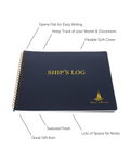 Direct 2 Boater Spiral Bound Ship's Log Book with Flexible Cover, 100 Pages