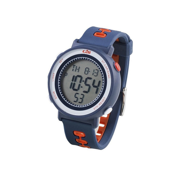 Gill Sailing Race Watch - Navy and Red Color - Water Resistant to 30M - Shock and Impact Resistant