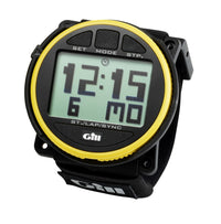 Gill Sailing Regatta Race Timer - Yellow & Black Color - Water Resistant to 30M - Shock and Impact Resistant