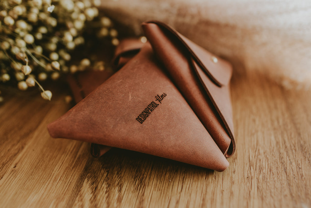 leather packaging for photographers