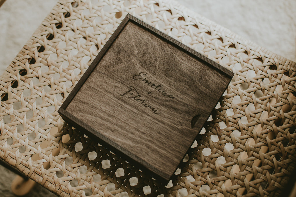 wooden box for prints