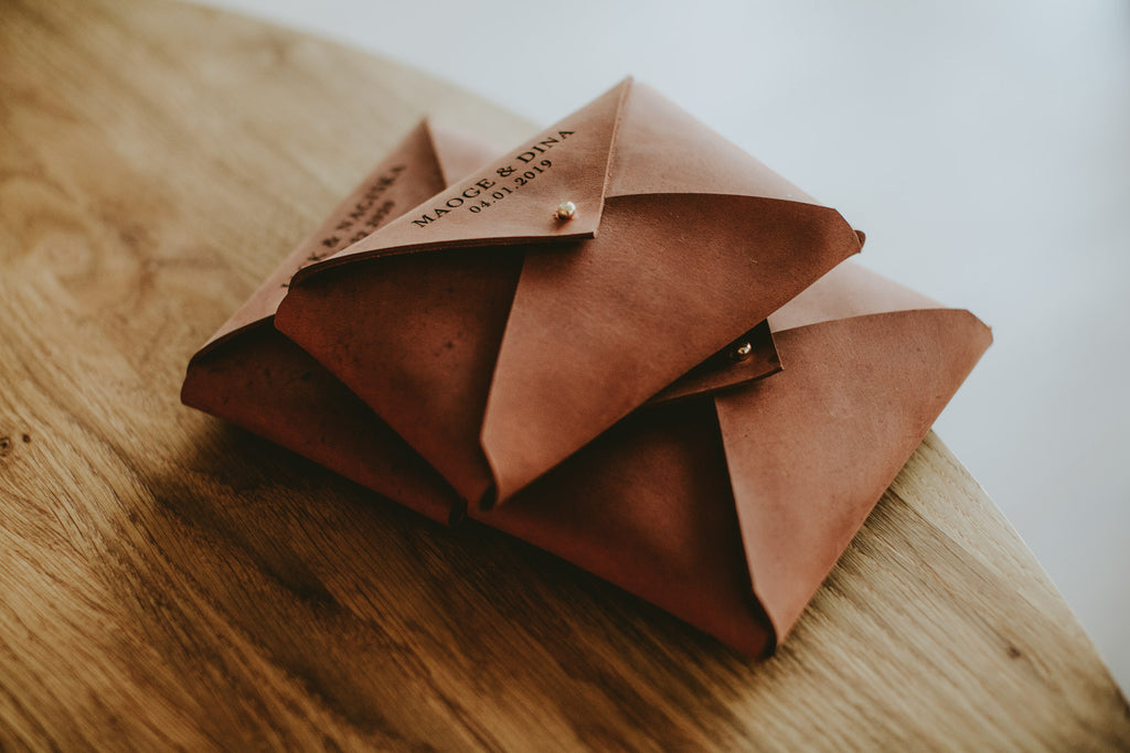leather envelopes for prints