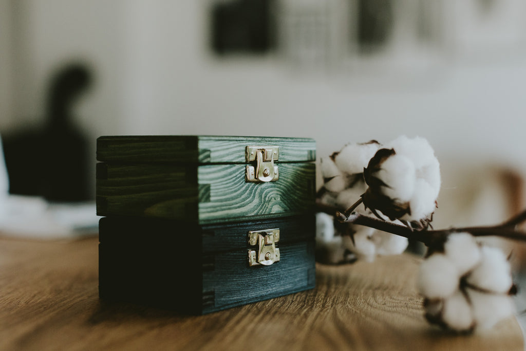 wooden boxes for usb drives