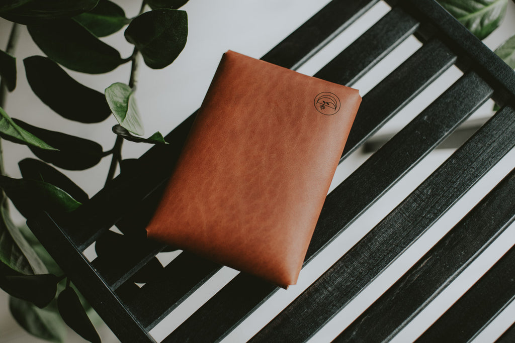 leather envelope for prints