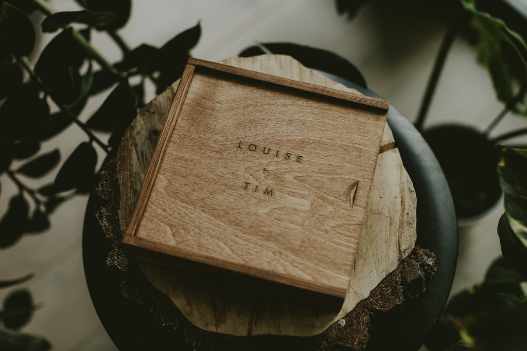 wooden box for 4x6 prints