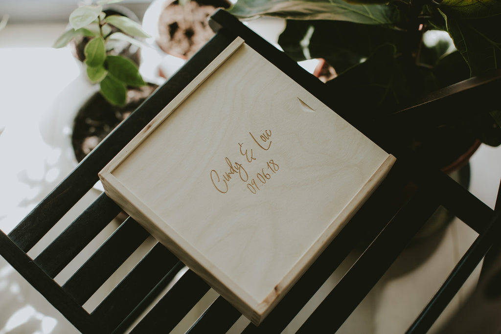 packaging for wedding photographers