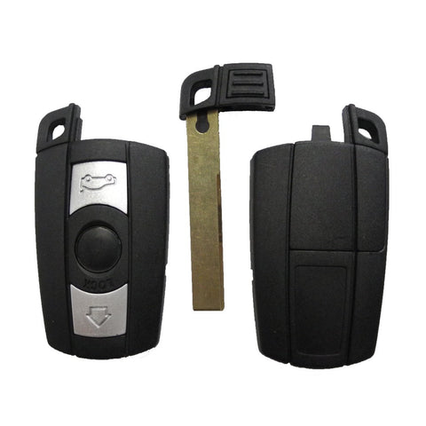 BMW 3 Button Remote Key for 1 3 5 6 Series X1 X3 X5 X6