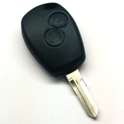 Renault 2 Button Remote Key Shell