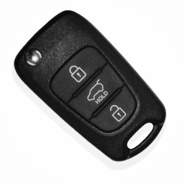 Hyundai i20 Flip Key Replacement Shell