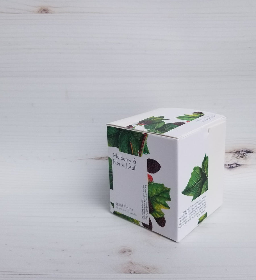 Mulberry and Neroli Leaf Spirit Flame Candle