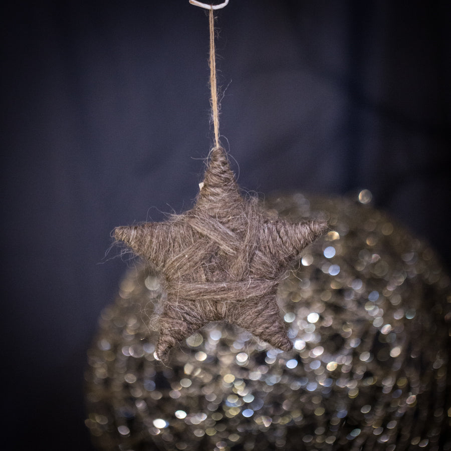Yarn Star ornament