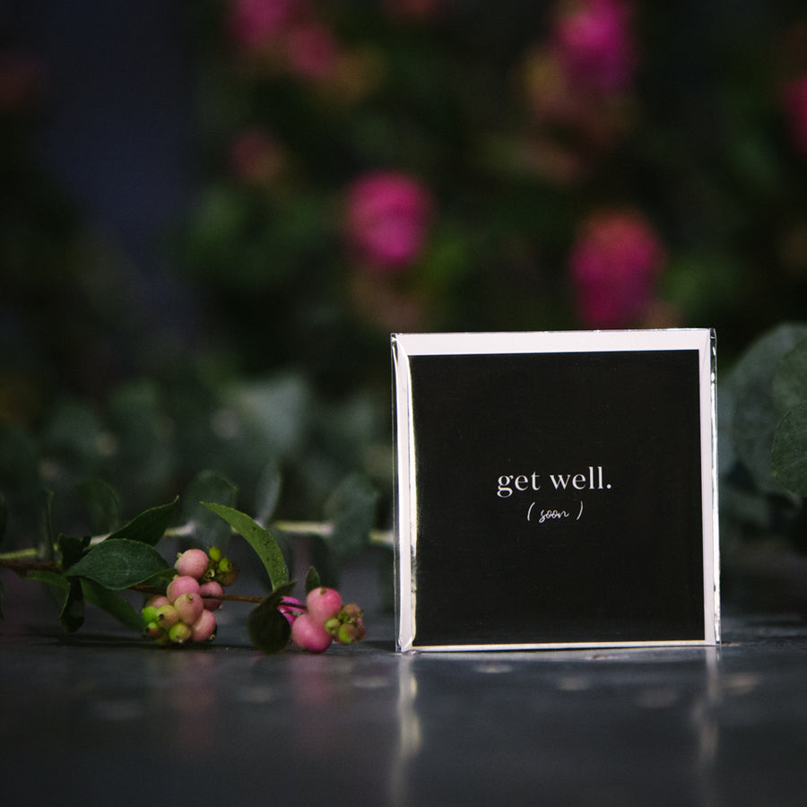 """Get Well (soon)"" Mini Card"