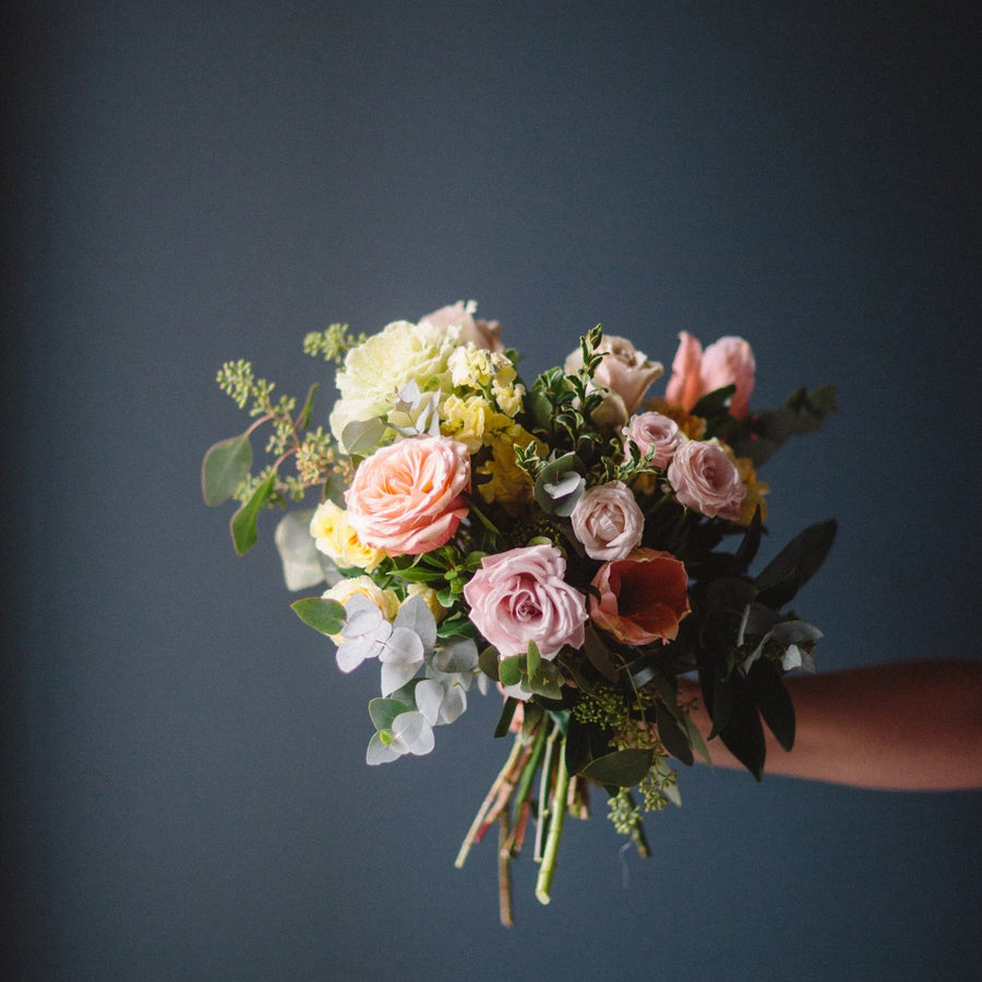 Fleurish Signature Hand Tied Bouquet | Soft Garden Style