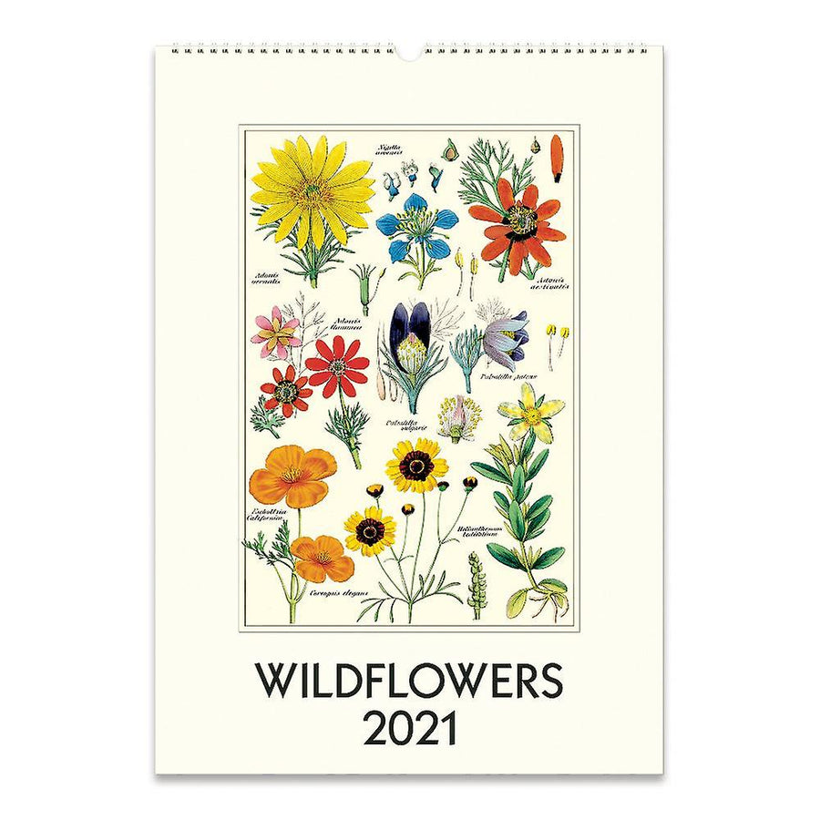 Wildflowers Wall Calender