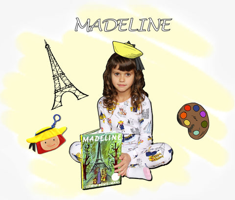 Madeline Books to Bed