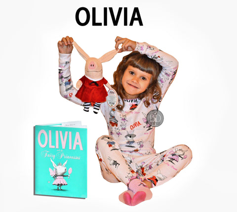 Olivia the piglet books to bed