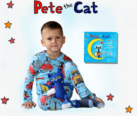 Pete the cat books to bed