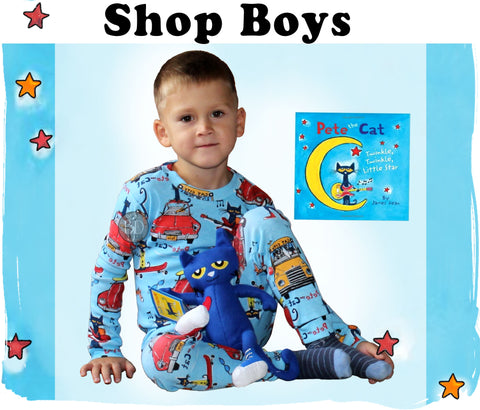 boys pajamas books toys