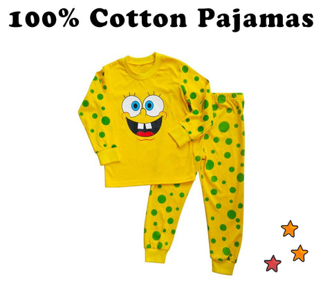 cotton pajamas children