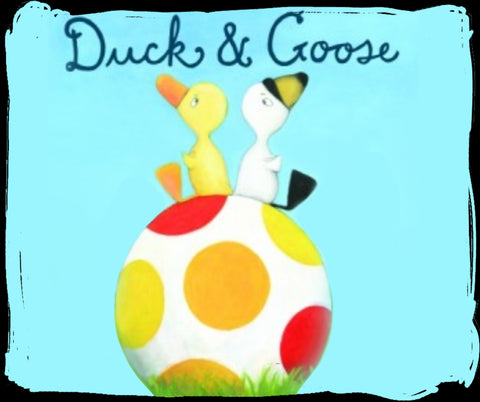Duck and goose picture book