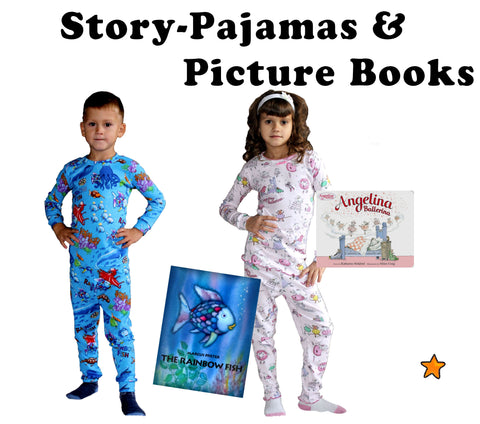 pajamas and picture books kids