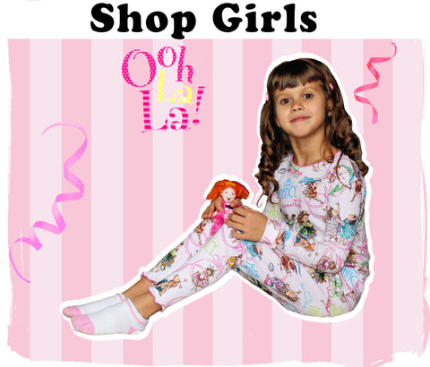 girls books pajamas dolls