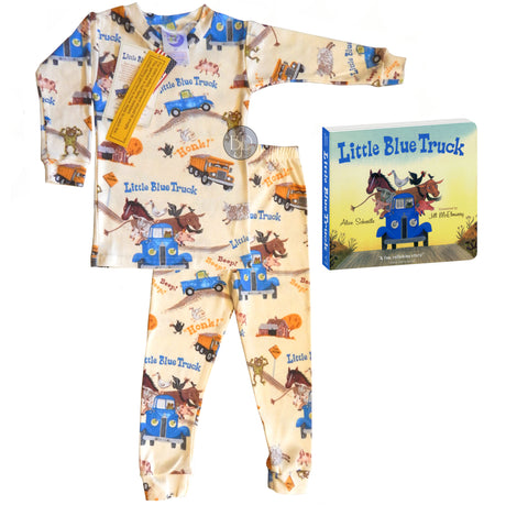 """Little Blue Truck"" Picture Book & PJ's"