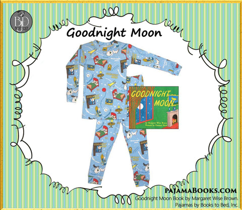"""Goodnight Moon"" Set for Baby-Boy - PajamaBooks.com"