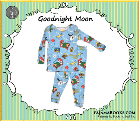 "Books to Bed: ""Goodnight Moon"" PJ's Baby-Boy"