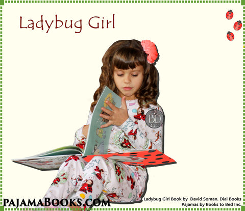 """Ladybug Girl"" Book and Pajamas Set"