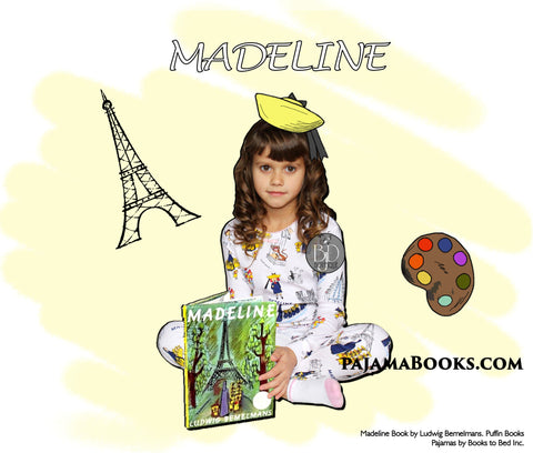 Madeline Pajamas and Book