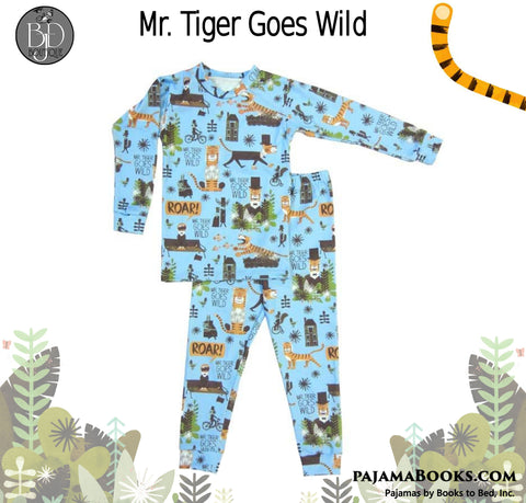 Books to Bed PJ's Mr Tiger Goes Wild