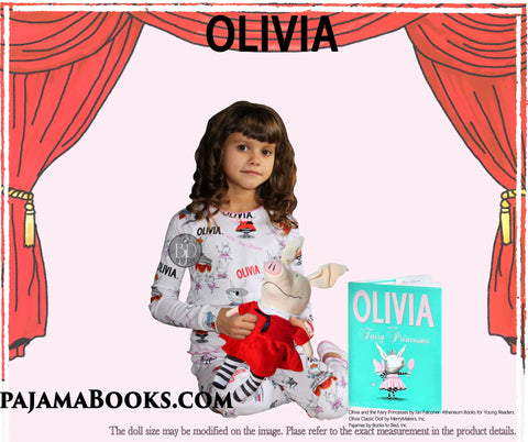 Olivia the Piglet Pajamas, Book and Doll