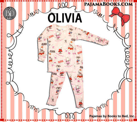 Olivia the Piglet Pajamas Toddler