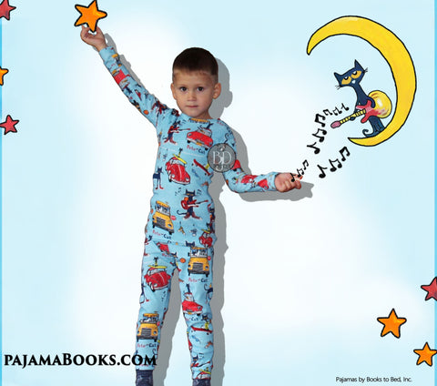 Pete the Cat Christmas Gift Set: Toy and Jammies