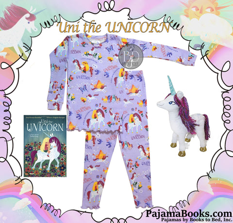 "Bedtime Story-Set for Girls: ""Uni the Unicorn"""