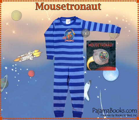 Mousetronaut Book & Pajamas for Boys