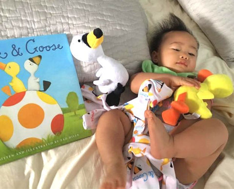"""Duck and Goose"" Book & Plush Doll"