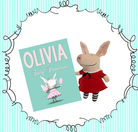 """Olivia the Piglet"" Book and Doll"