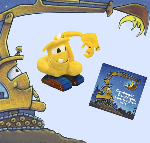 """Goodnight Goodnight Construction Site"" Book & Plush"