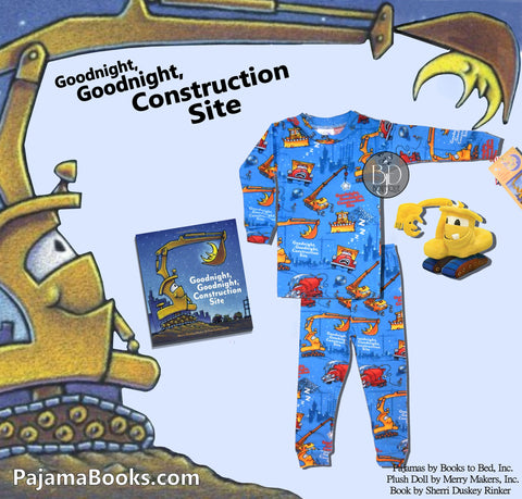 "Bedtime Story-Set For Boys: ""Goodnight Construction Site"""