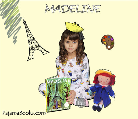 Madeline pajamas books to bed