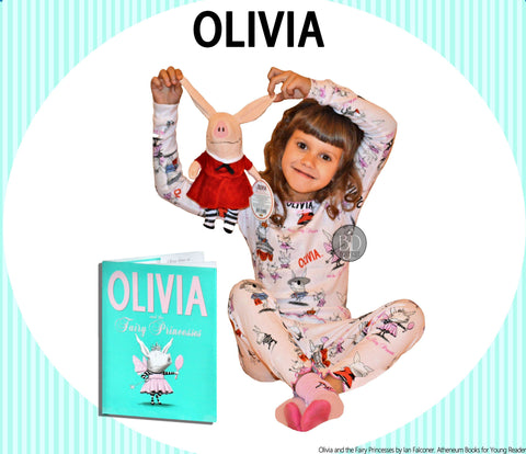 olivia books to bed