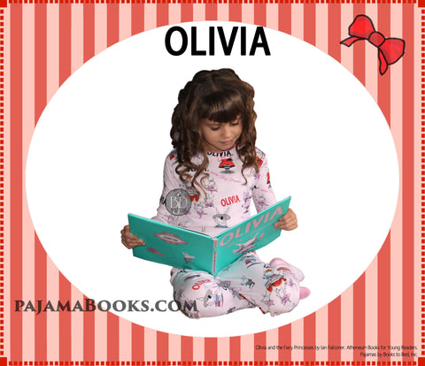 Books to Bed Pajamas and Book Olivia the Piglet