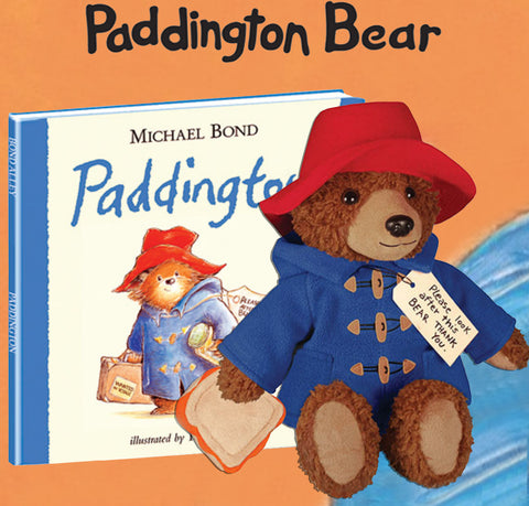 paddington bear book and toy