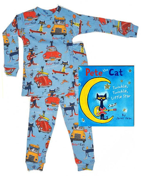 Pete the Cat Book and Pajamas - PajamaBooks.com