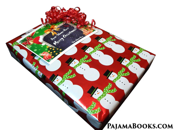 Twas the Night Before Christmas Pajamas and Book Gift Set