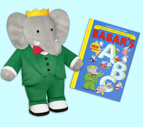 Babar ABC alphabet book