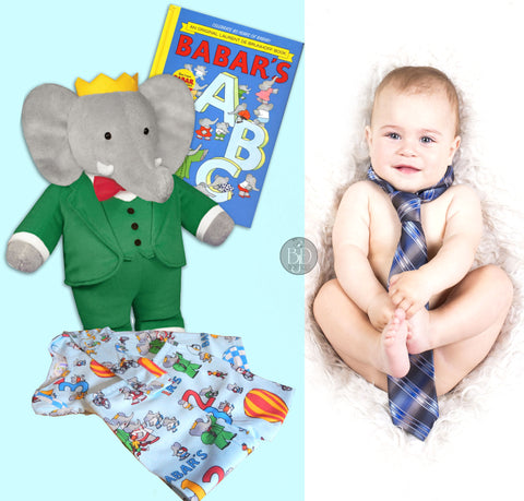 Baby Boy Gift Set Learn Alphabet